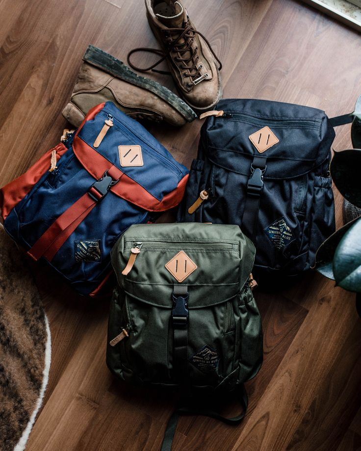 A bag made for day hikes, since it's just big enough to store your essentials.