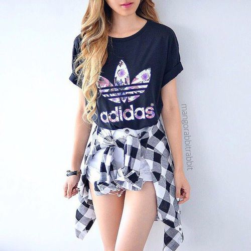 Imagen de fashion, adidas, and outfit