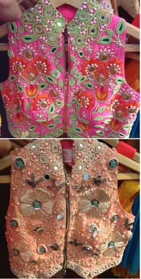 Papa Dont Preach Info & Review | Bridal / Trousseau Designers in Mumbai | Wedmegood.......beautiful jackets