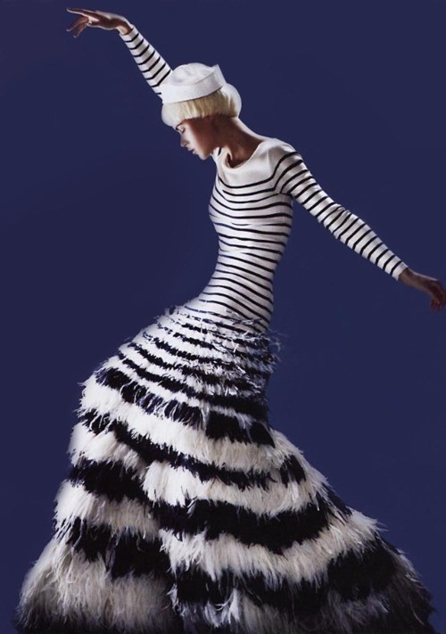 gaultier - nothing I would actually wear (well I don't think so anyway) but awesome to look at