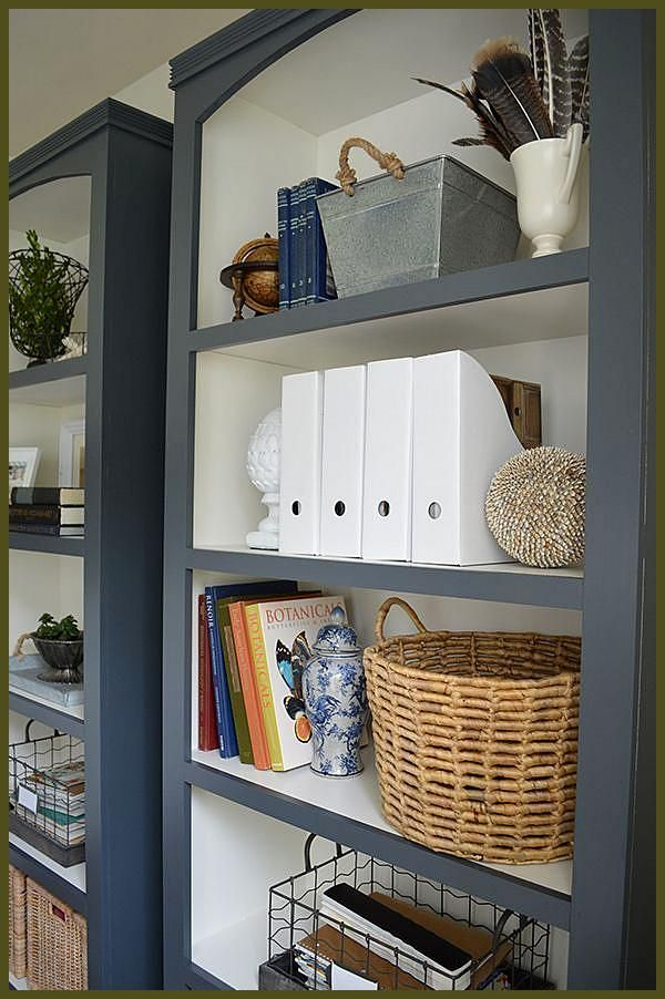 Best Diy Shelves Bookshelf Ideas For Creative Decorating Projects Tags Bookshelf Decorating Ideas Bookshelf Ideas Diy Booksh Bookshelves Diy Painted Bookshelves