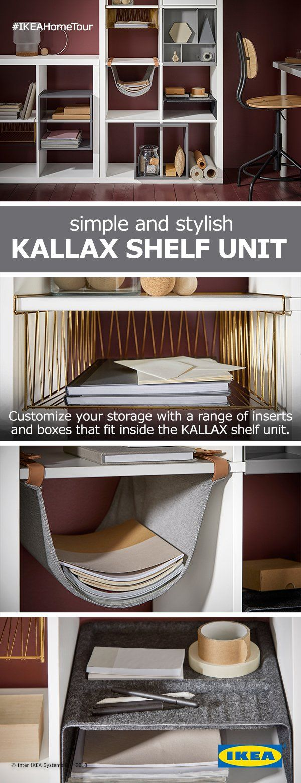 Whether you're looking for more storage, a place to organize your things, or an affordable way to separate a shared space, the KALLAX shelf unit is the customizable solution that's always the perfect fit.