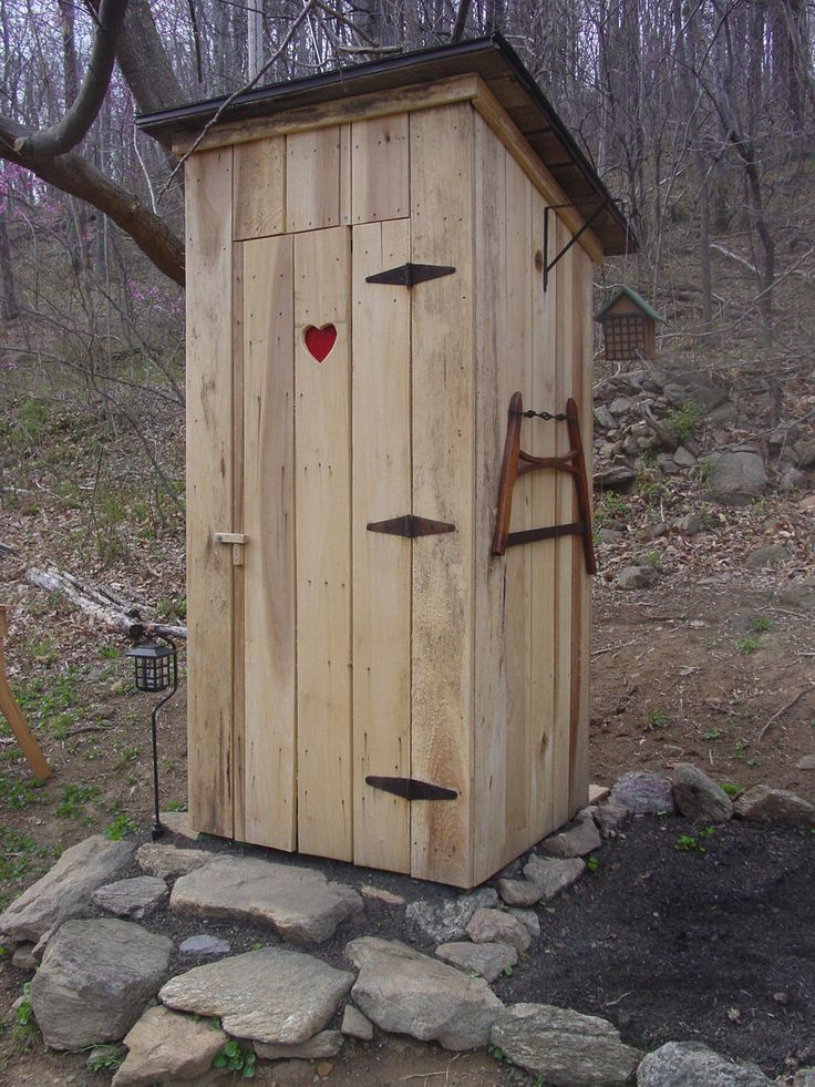 435 best outhouses images on pinterest outhouse ideas. Black Bedroom Furniture Sets. Home Design Ideas