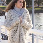 Have you made your own Coastal Fog Cardigan yet Follow the link in my bio to check it out and shop the lionbrandyarn kit currently off Dont forget to tag hopefulhoneyhive in your wip posts Super excited to bundle myself in this cosy cardi how about you coastalfogchunkycardigan hopefulhoneyhopefulhoneyhive lionbrand crochet cardigan crochetcardi crochetlove crochetpattern crochetaddict handmade handmademovement makersmovement modernmaker slowfashion craftastherapy instacrochet…