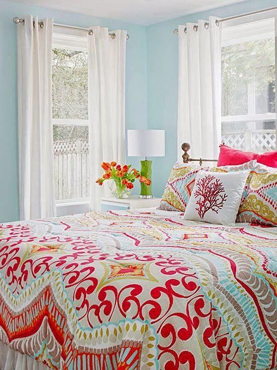 La primavera colorista ha llegado a nuestras camas.