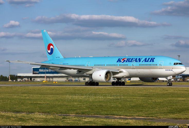 Korean Air HL7734 aircraft at Prague - Václav Havel photo