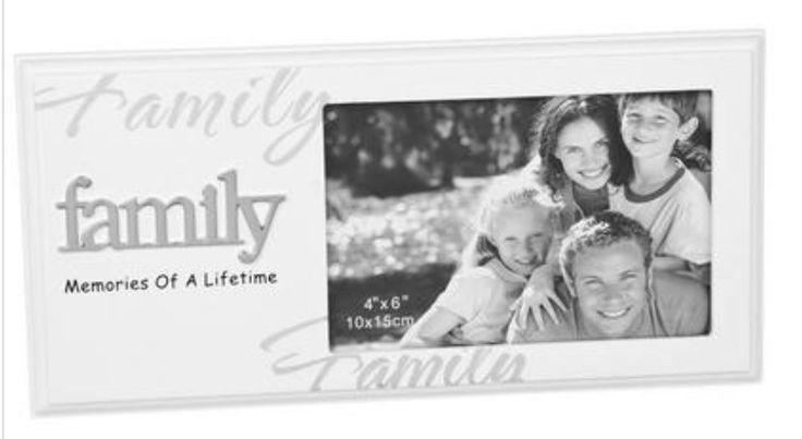Family Photo Frame ´Family: Memories of a Lifetime´