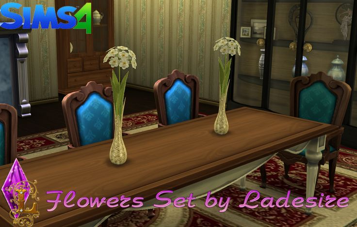 Ladesire's creative corner): TS4 - Flowers Set by Ladesire