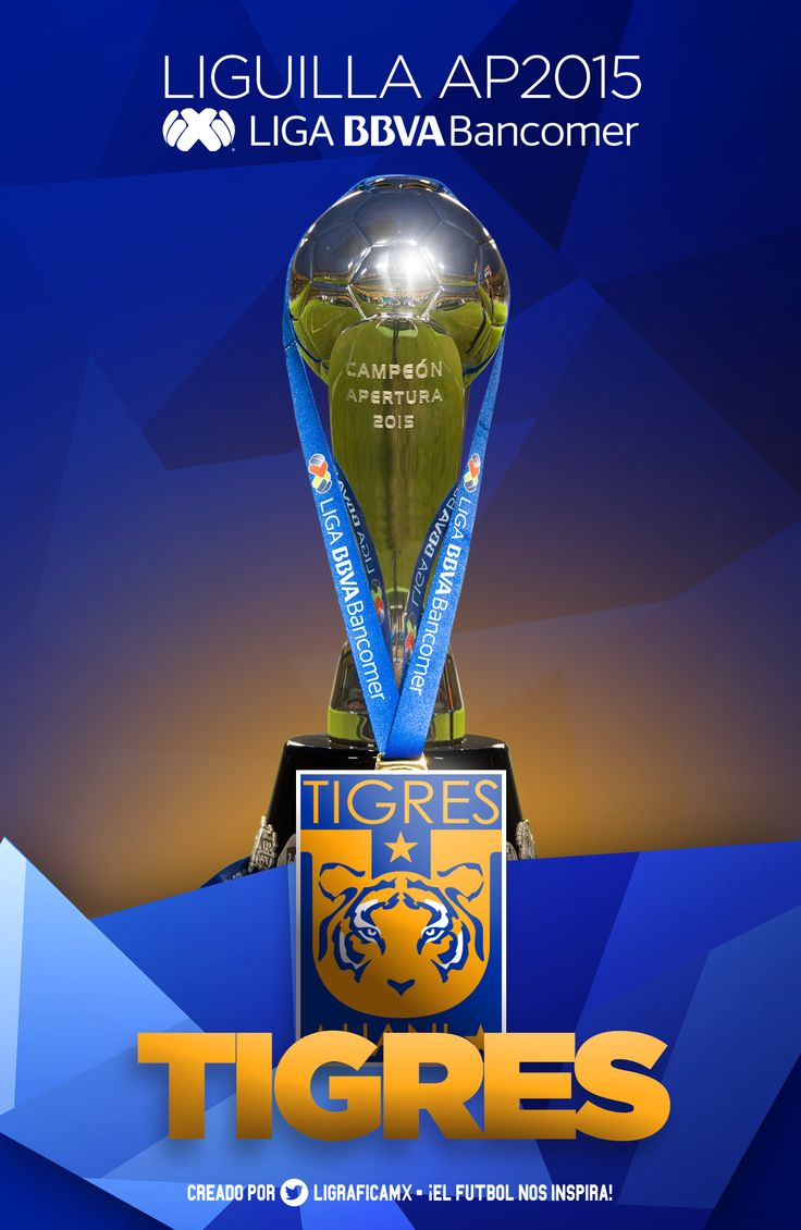 Tigres UANL • Campeón AP15 LigaMX