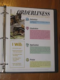 Large Families on Purpose: Orderliness - A Closer Look
