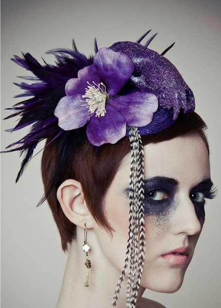 DeathGlam purple princess raccoon skull by DeathGlamCouture, $90.00