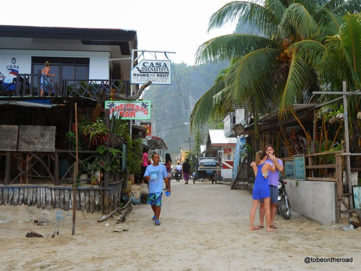 To Be On The Road: Romance In The Air -Beach Walk Snippets in El Nido...