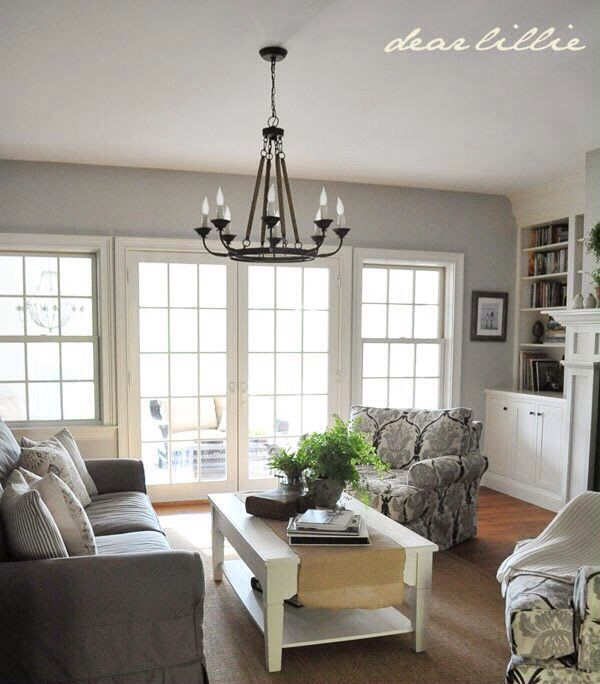 Benjamin Moore Colors For Your Living Room Decor: Wall Color Is Benjamin Moore's Stonington Gray