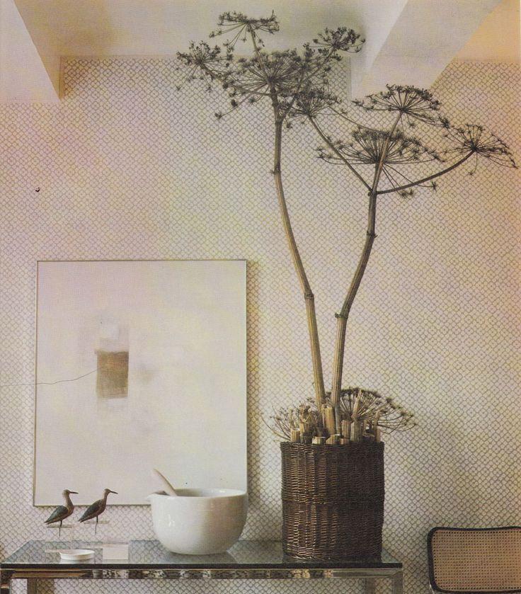 THE DAVID HICKS BOOK OF FLOWER ARRANGING 1976