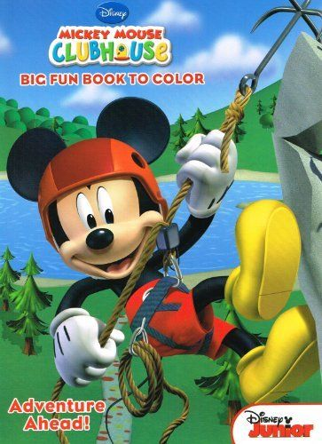 DisneyR Mickey Mouse Coloring Book Super Set 4 Books Assorted Titles By