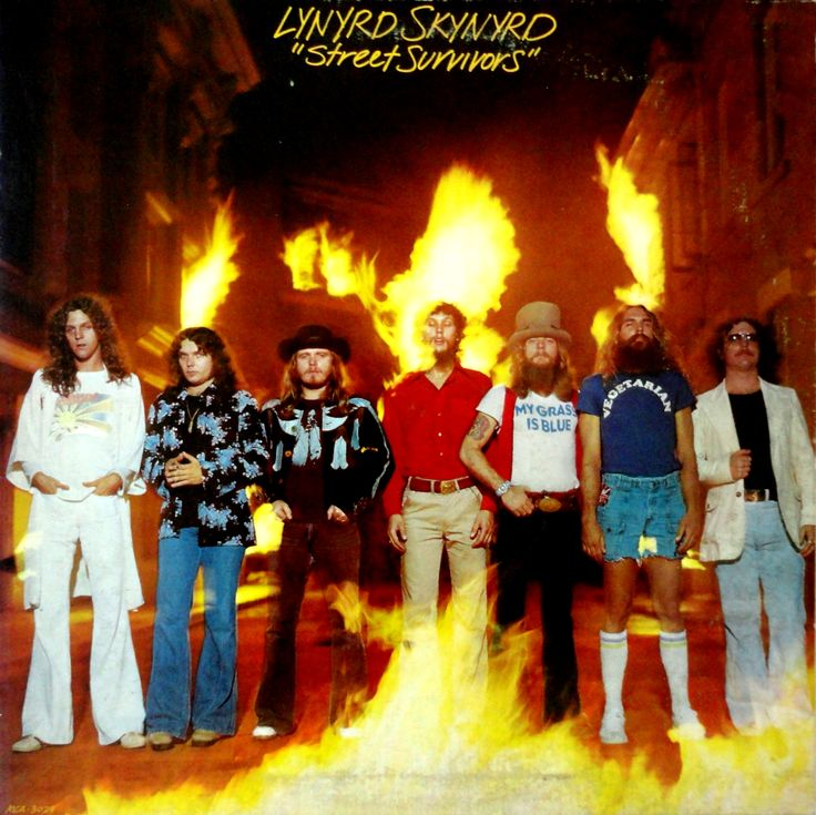 "Street Survivors Original Cover | From The Stacks: Lynyrd Skynyrd ""Street Survivors"""