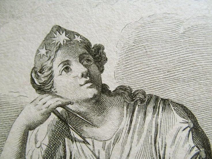 版画・エフェメラ・切手など: 天文古玩