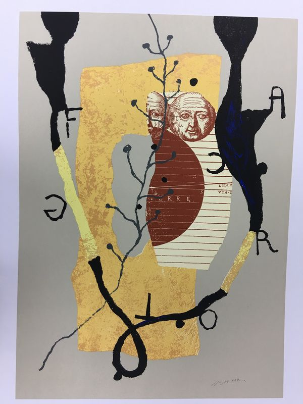 Richard TEXIER Homage to Federico Garcia Lorca , oeuvres de la Place de Marché - Artprice.com