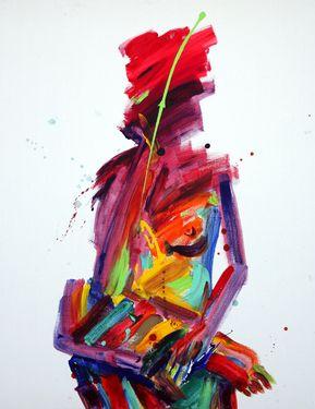 "Saatchi Online Artist Seok Young Kim; Painting, ""Sound of silence"" #art"