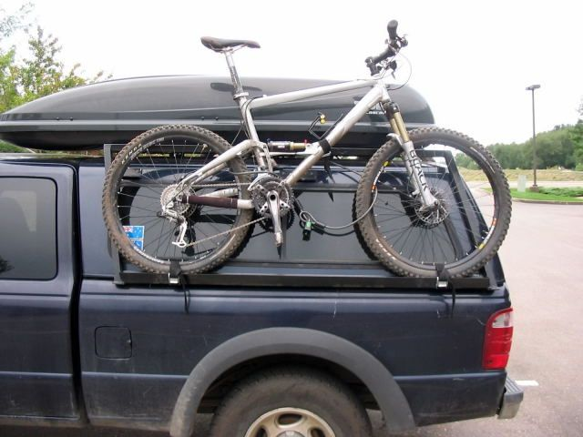 Laying Bike Down In Truck Bed