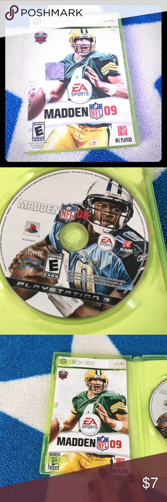 Madden 08 NFL Xbox 360 Can connect to Xbox live. Xbox 360 Other