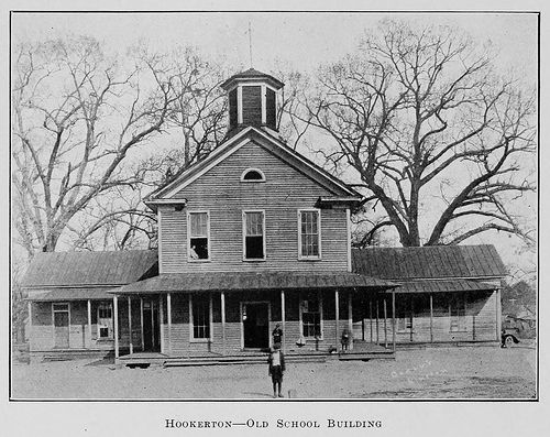 Hookerton, Old School Building    From The Biennial Report Of The  Superintendent Of Public Instruction Of North Carolina ^cs