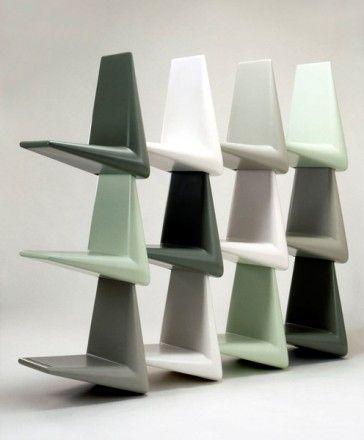 Estantería LINK de Qui est Paul, diseño de Martijn Prins - Tendenza Store
