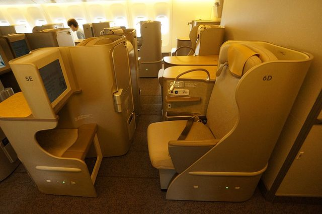 The Lie Flat Business Class Seats Of Asiana Airlines