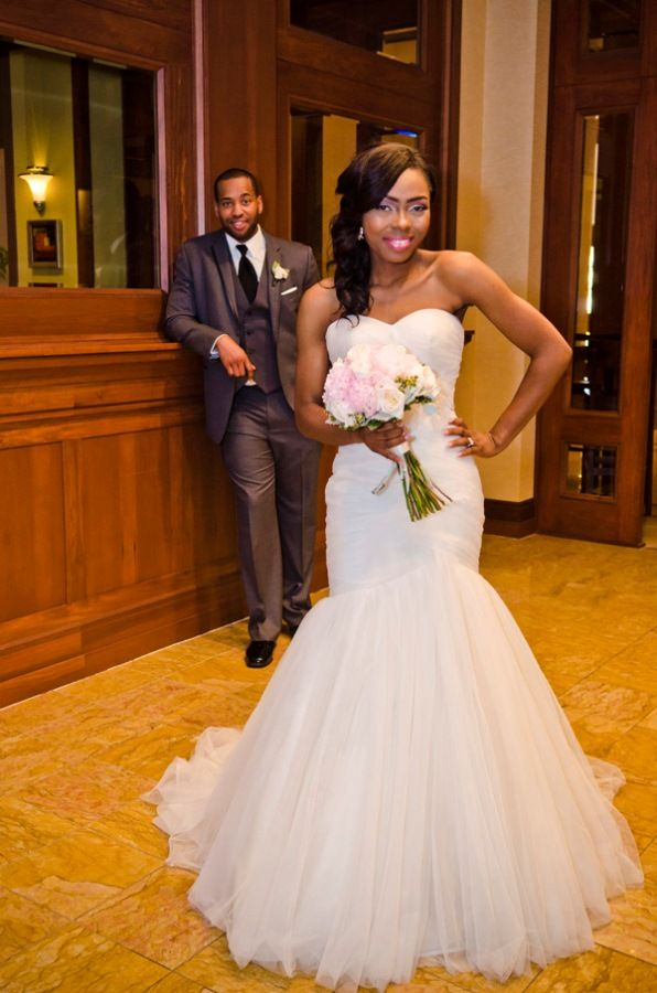 A nigerian wedding full of classic romance in atlanta for Wedding dress in atlanta
