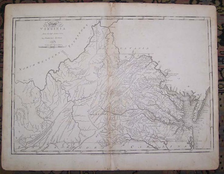18 best virginia images on pinterest virginia location map and map map antique the state of virginia from the best authorities by samuel lewis smither sculpt sciox Image collections