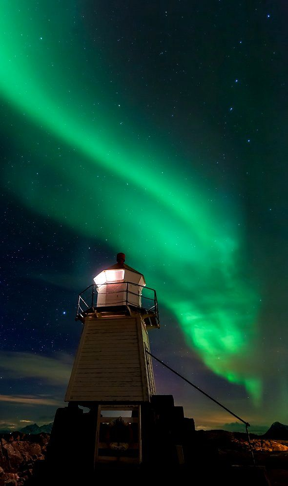 Aurora Lighthouse.. Lofoten, Norway | by Thomas Schäffer