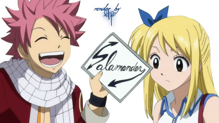 Render Fairy Tail - Renders Fairy Tail natsu lucy