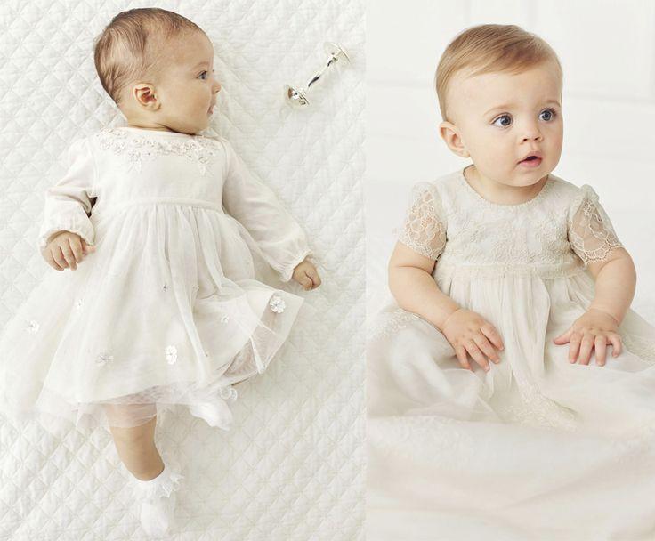 С какого возраста начинается элегантность? Правильно, с самого рождения! Чудесные платья для малышек, которые подойдут для крещения, дня рождения и даже маленькой подружки невесты!  #платья #малыши #we_love_next