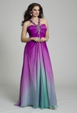 Ombre Plus Size Party Dresses Fashion Dresses