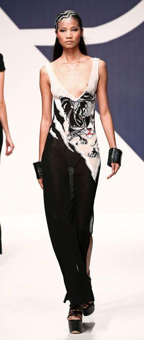 Abiti Da Sera Krizia.Abito Lungo Da Sera Krizia Fashion Passion For Fashion Vogue