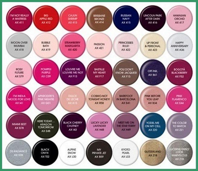 Gel Nail Polish Color Chart Nail Art Ideas 2015 Nail Art Idea Pinterest Nail Art Colors