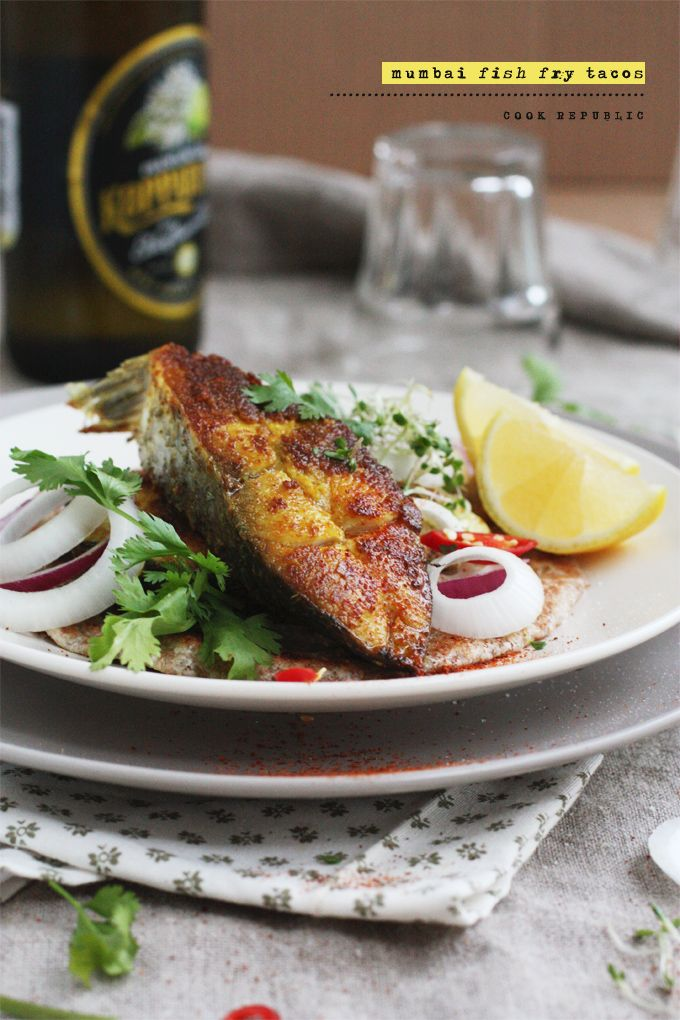 Mumbai Fish Fry Tacos - Cook Republic