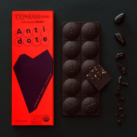 Antidote TONACATECUHTLI 100% Raw Cacao Bar with Crunchy Nibs  http://www.pod72.com/collections/antidote-chocolate/products/antidote-tonacatecuhtli-100-raw-cacao-bar-with-crunchy-nibs