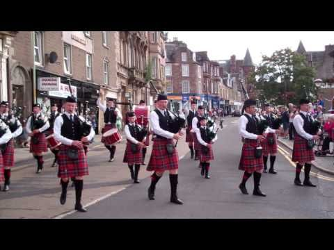 ▶ 6th 8th Dundee Boys Brigade Pipe Band Crieff Perthshire Scotland - YouTube