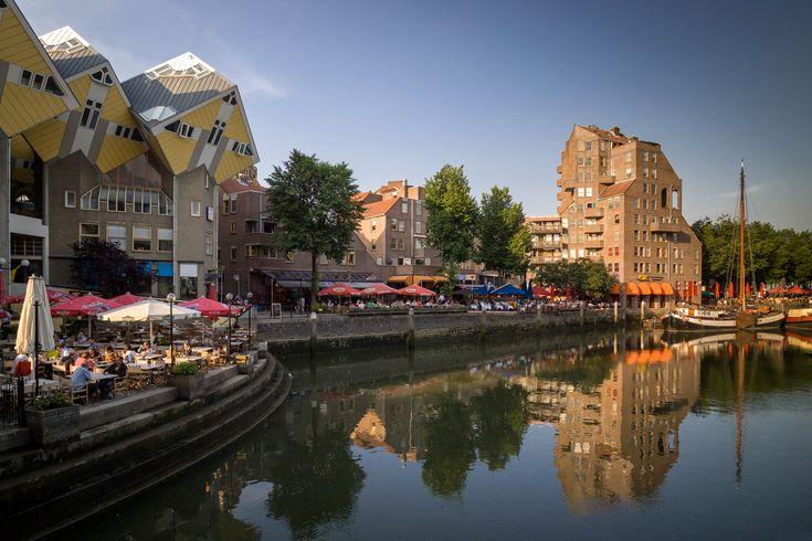 Quay Spanish, Rotterdam - architect Piet Blom
