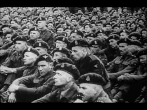 (Rare) Operation Market Garden Footage - YouTube