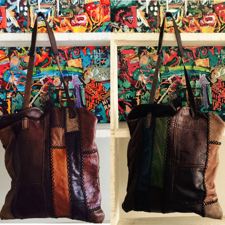 YinYang leather bag. Jenny South.