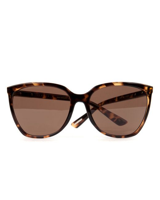 Oversized sunglasses - Tortoise Shell | Sunglasses | Ted Baker