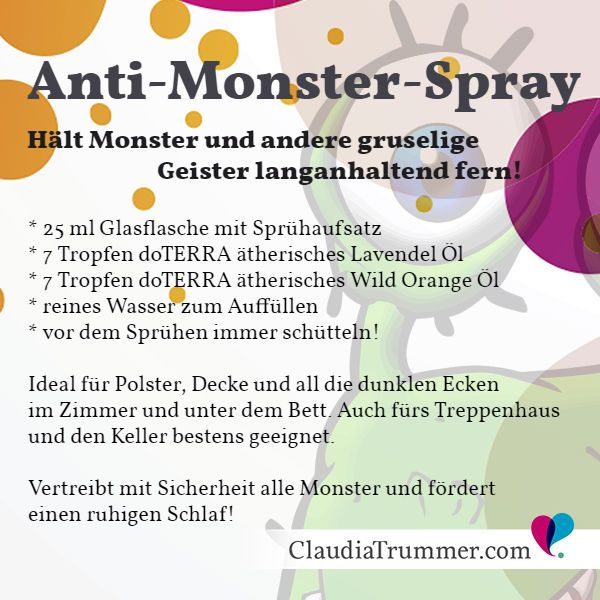 DIY Anti-Monster-Spray