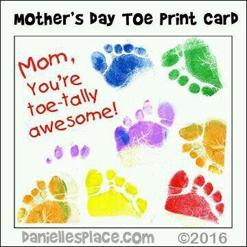 Hand & foot print art