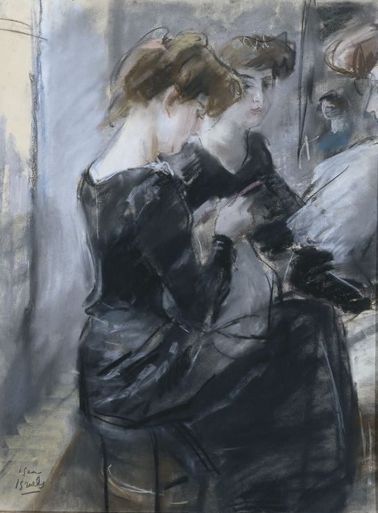 Isaac Israëls (1865-1934) - The Milliner