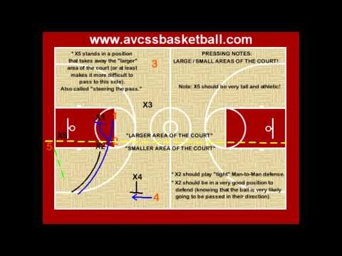"""Visit http://www.avcssbasketball.com for over 300+ """"Free"""" video clips, and over 125+ """"Free"""" handouts!  The most free youth basketball information on the web!    This is a video clip showing the large and small areas of the court and why it is important to understand the concept."""