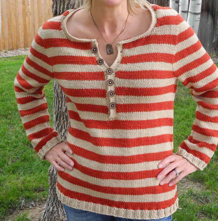 DIY: Driftwood Knit Sweater ---- #outerwear