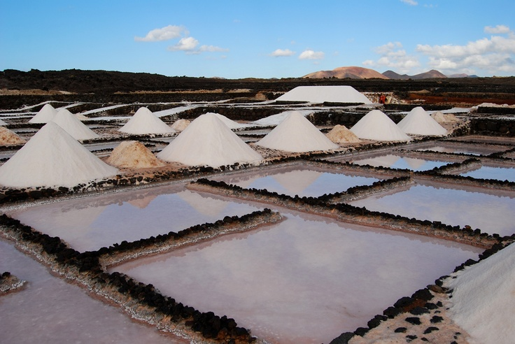 Lanzarote: le saline #travelgood #Canarie #Baleari