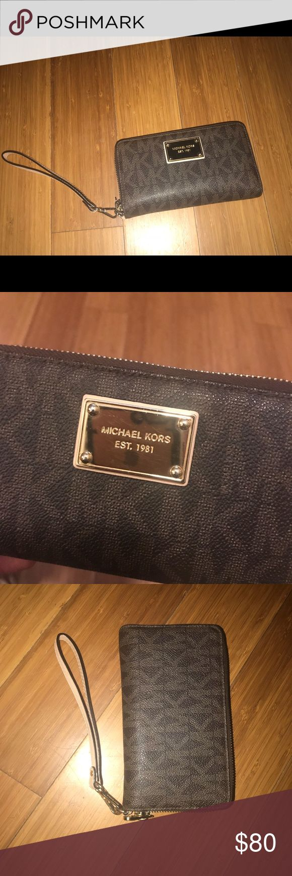 Michael Kors Jet Set Tech Wristlet Perfect condition with tags! Used for two days. Michael Kors Bags